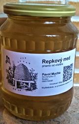 Repkový med